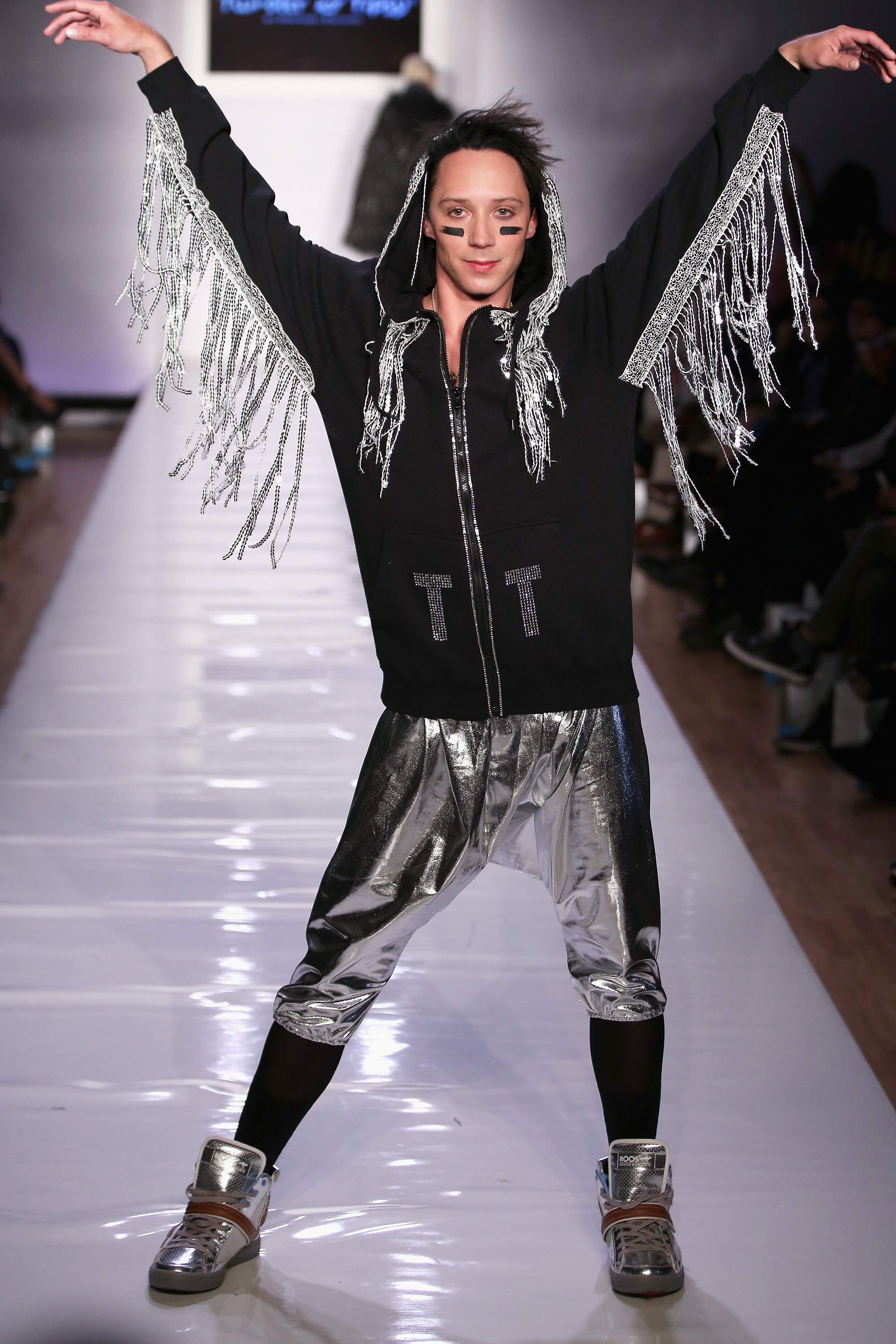 Tumbler and Tipsy New York Fashion Week Fall 2013 Look 52 Johnny Weir