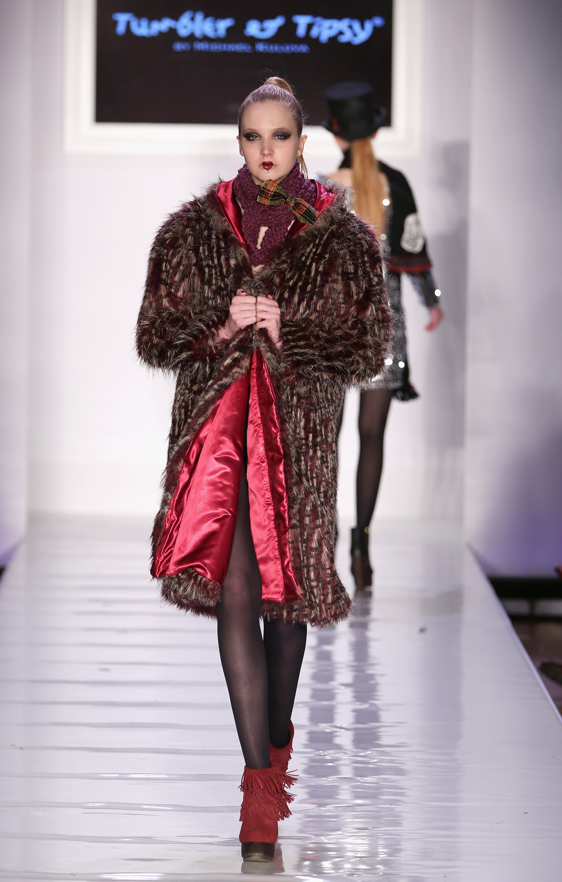 Tumbler and Tipsy New York Fashion Week Fall 2013 Look 62