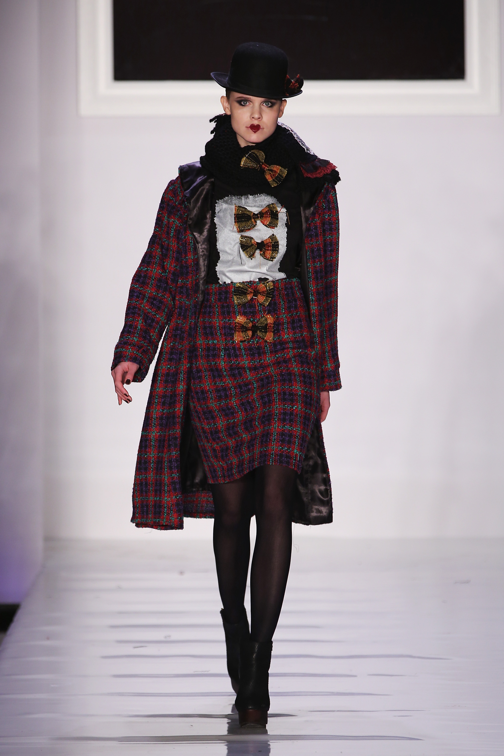 Tumbler and Tipsy New York Fashion Week Fall 2013 Look 31