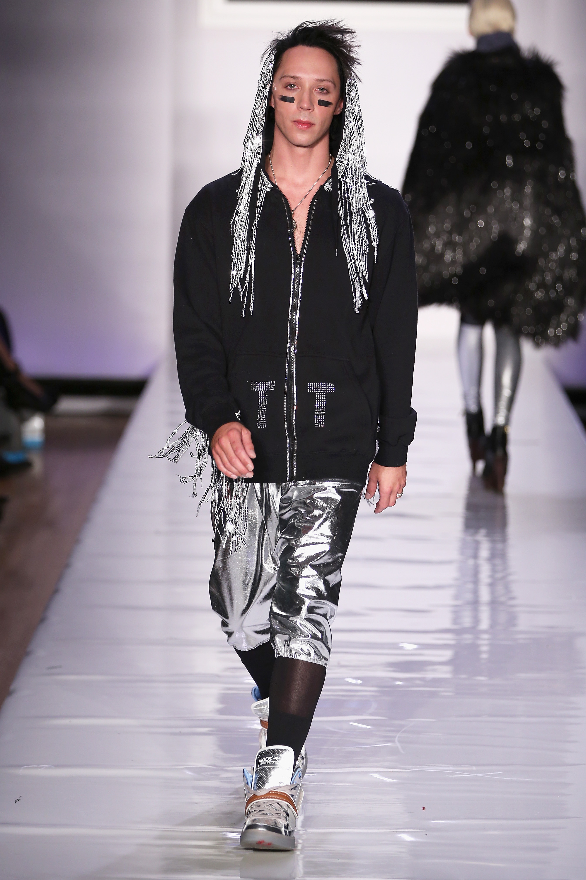 Tumbler and Tipsy New York Fashion Week Fall 2013 Look 51 Johnny Weir